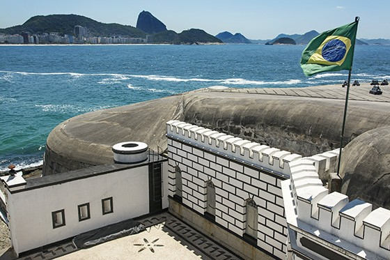 Copacabana beach, close to Ipanema